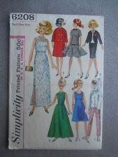 Simplicity Vintage Barbie Pattern Simplicity #6208 Nicely Cut Complete