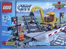 New Lego City 7936 Train Level Crossing / IR RC Track Rails Sets Sealed Box
