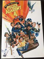 Police Academy 4 - Und jetzt geht's rund DVD ✅