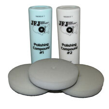 More details for jfj easy pro supply pack 1 - 2 x 12oz solution & 3 x buffing pads