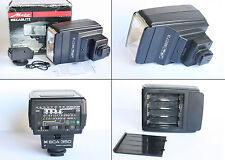 Flash Metz Mecablitz 32 CT3 con SCA 300 SCA 350 M Leica R4