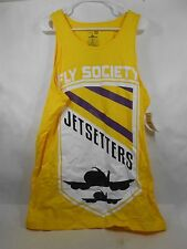 NEW FLY SOCIETY F16 TAN YELLOW  100% Cotton *SIZE XL