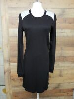BCBG MAXAZRIA BEB67B43 Long Sleeve Black Dress Women's Size: M NWT