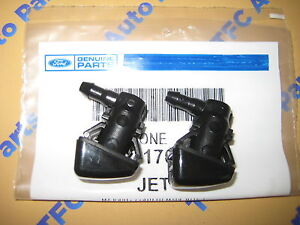 2 Ford Super Duty Windshield Washer Jet Nozzle Squirters OEM New  2008-2010