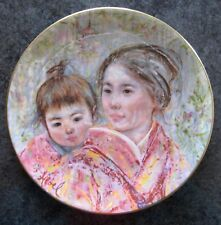 Hibel Sayuri & Child Royal Doulton 1974 2nd in Series, Collector Plate