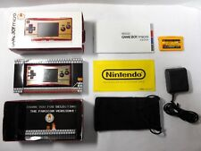 Nintendo Game Boy Micro Famicom 20th Anniversary Edition with Game