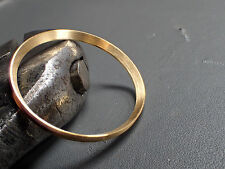BRUSHED GOLD CUSTOM ST.STEEL CHAPTER RING W.PIN STABILIZER FOR SKX007 R-01-BG