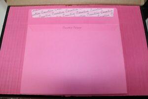 C5 Flamingo Pink Coloured Wallet Envelope - 120gsm - 500 Envelopes