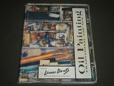1960 OIL PAINTING TRADITIONAL AND NEW BY LEONARD BROOKS BOOK - I 1012