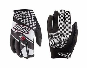 O'Neal Jump AFTERBURNER Full Finger Motocross /Cycling Gloves Size L/9 Black