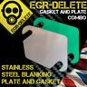 EGR Blanking Plate & GASKET CITROEN C3 C4 C5 XSARA PICASSO BERLINGO TDCI 1.4 1.6