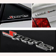 3D Sport Word Letter Sticker Logo Emblem Badge Auto Car Racing Motor Logo Decal