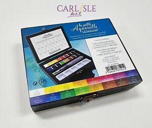 Sennelier La Petite Aquarelle Fine Watercolour Paints Wooden Box Set