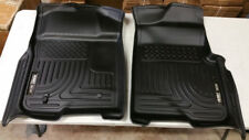 SALE HUSKY LINERS Black weatherBEATER Front Floor Mats for Ford F150 2009-2014