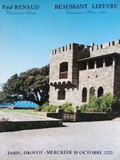 Catalogue de vente Mobilier du Chateau d'Ortinola Corse Extreme Orient 2000