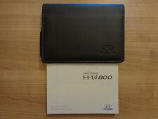 Hyundai H-1 i800 Owners Handbook/Manual and Wallet 08-17