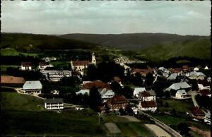 Höchenschwand Schwarzwald Postkarte ~1950/60 Teilansicht Felder Berge ungelaufen