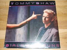 TOMMY SHAW girls with guns LP RECORD - sealed