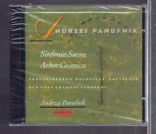 PANUFNIK CD NEW SINFONIA SACRA / ARBOR COSMICA  / PANUFNIK