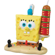 NEW  SPONGEBOB SQUARE PANTS CAKE CANDLE (1)