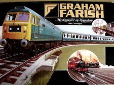 Catalogo GRAHAM FARISH scala N 1981 - ENG -  [TR.28]
