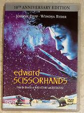 Edward Scissorhands (Johnny Depp) in EXCELLENT condition (Region 4)