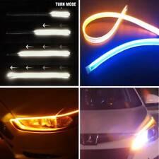 2pcs LED Strip Turn Signal Switchback Indicator Daytime Running Lights