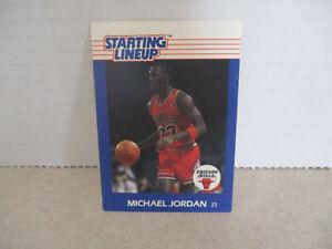 1988 Michael Jordan Kenner Starting Lineup SLU Card, Chicago Bulls