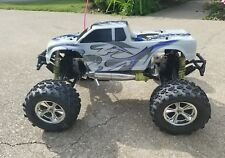 DURATRAX WARHEAD EVO, 1/8 SCALE NITRO, 4 WHEEL DRIVE RC MONSTER TRUCK