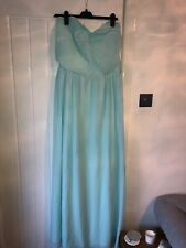 Boohoo Plus Size 20 Green Boob Tube Long Maxi Dress Bnwt Bridesmaid Dress Races