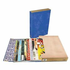 1 BCW Brand Comic Book Stor-folio 1.5 inch holder storage carry case - BLUE