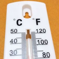 Wall Thermometer Indoor/Outdoor Use - Ideal for Home, Office, Room, Garage,