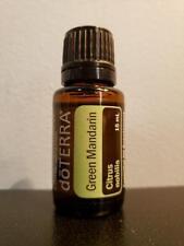 doTERRA Green Mandarin Essential Oil Supplement 15 mL - New / Sealed! Exp 7/2023
