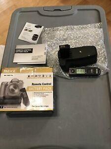 Meike MK-760D Pro Battery Grip 2.4G Wireless Remote Pack for Canon EOS 750D 760D