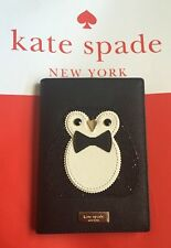 NWT Kate Spade Passport Holder Imogene Clifton Lane WLRU2689 Penguin
