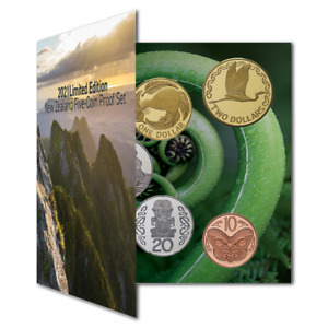 New Zealand - 2021- Limited Edition New Zealand Five-Coin Proof Set