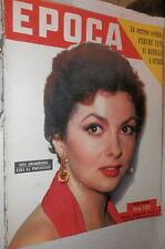 EPOCA 31 gennaio 1953 Gina Lollobrigida Zhdanov Tito Stalin Montecassino Osiris