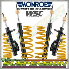 VE COMMODORE 70mm ULTRA LOW COIL SPRINGS & MONROE GT SPORT SHOCKS / STRUTS