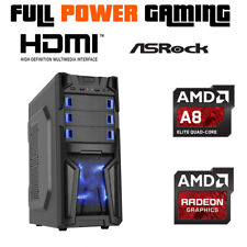 Latest Generation Beginners 10 Core Gaming Desktop Custom Built Budget AMD PC