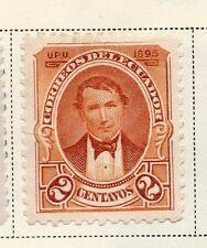 Ecuador 1895 rápida de los problemas bien con bisagras de menta 2c. 145596