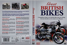 Great British Bikes. Triumph, BSA, Norton, Vincent, Ariel, AJS & more. New DVD