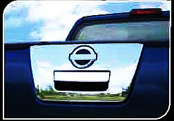 CHROME TAIL GATE COVER WITH KEY HOLD FOR  NISSAN NAVARA FRONTIER D40