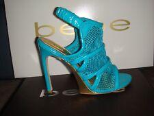 Bebe Blue Pumps Sandals High Heels NIB Size 7