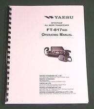 Yaesu FT-817ND Instruction Manual - Premium Card Stock Covers & 32lb Paper!
