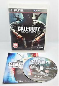 Call of Duty: Black Ops Video Game for Sony PlayStation 3 PS3 PAL TESTED