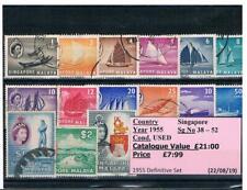 GB Commonwealth Stamps - Malaysia / Singapore / Straits
