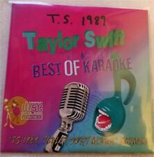 TAYLOR SWIFT CDG BEST OF KARAOKE T.S. 1989 13 SONGS BLANK SPACE,SHAKE IT OFF