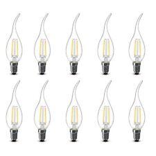 X10 LAMPADINA CANDELA 2W LED FILAMENTO E14 FIAMMA LAMPADA LUCE CALDA 2700K