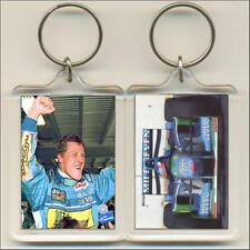 F1 Champions. 1994 Michael Schumacher. Keyring / Bag Tag.