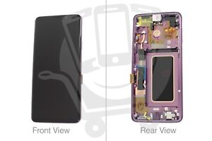 Genuine Samsung Galaxy S9+ SM-G965 Lilac Purple LCD Screen & Digitizer - GH97-21